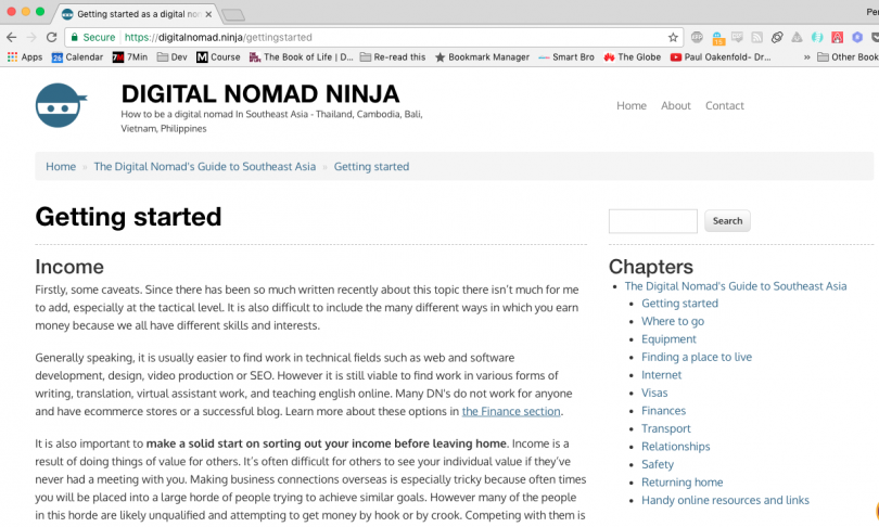 Digital Nomad Ninja
